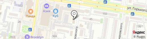 Адвокатский кабинет Климова М.В. на карте Благовещенска