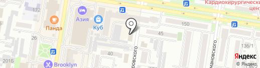 СтройБизнесКонтракт на карте Благовещенска