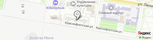 САР на карте Благовещенска