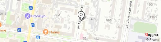 Отдел военного комиссариата Амурской области по г. Благовещенску и Благовещенскому району на карте Благовещенска