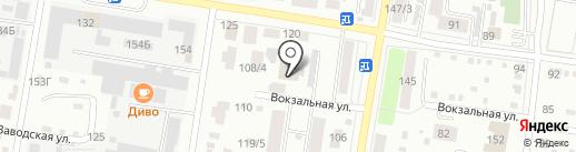 Сеть магазинов ткани на карте Благовещенска