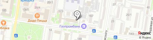 Отделение пенсионного фонда РФ по Амурской области на карте Благовещенска