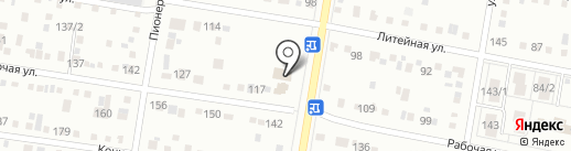 Феликс на карте Благовещенска
