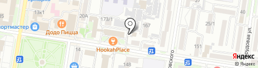 OGONECHEK beauty studio на карте Благовещенска