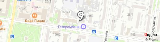 Ажур на карте Благовещенска