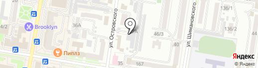 Роспак ДВ на карте Благовещенска