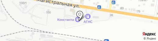 АЗС на карте Благовещенска