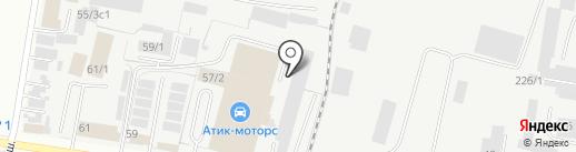 Автосервис для УАЗ на карте Благовещенска
