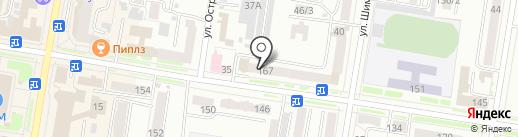 Полиграф на карте Благовещенска