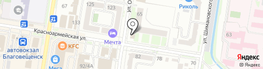 MixX на карте Благовещенска
