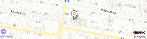 Автокомплекс на карте Благовещенска