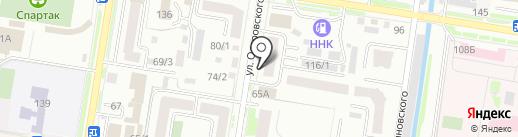 Сибиряк на карте Благовещенска