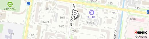 Тепломир на карте Благовещенска