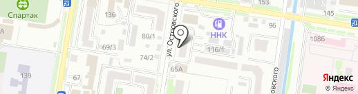 Центр пожарной безопасности на карте Благовещенска