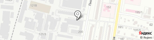 АмурЭлитСтекло на карте Благовещенска