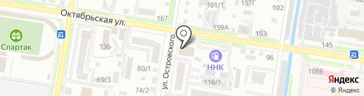 Фонд пожарной безопасности по Амурской области на карте Благовещенска