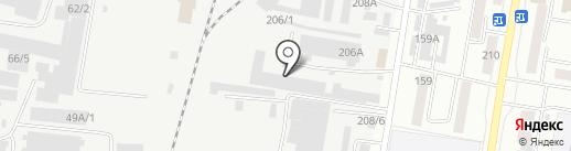 Сварог на карте Благовещенска