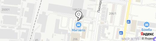 Kinai на карте Благовещенска