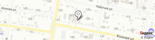 Автоград на карте Благовещенска