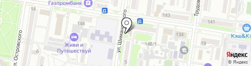 Кристал Ко на карте Благовещенска