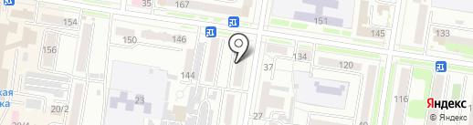 Валентина на карте Благовещенска