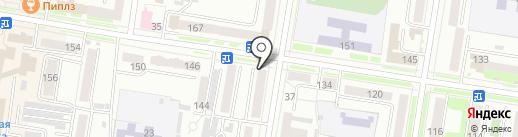 Амулет на карте Благовещенска