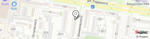 Charizma на карте Благовещенска