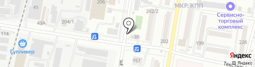 Шайба на карте Благовещенска