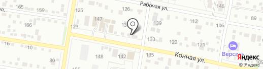 Багира на карте Благовещенска