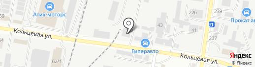 Амурский цементный завод на карте Благовещенска