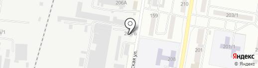 Автоцентр на карте Благовещенска