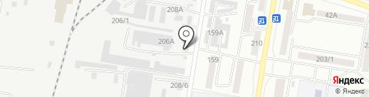 Дун Фан на карте Благовещенска
