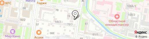 PROSPECT на карте Благовещенска
