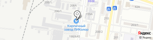 Тойота-Стиль на карте Благовещенска