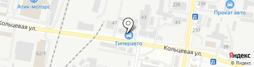 Гиперавто на карте Благовещенска