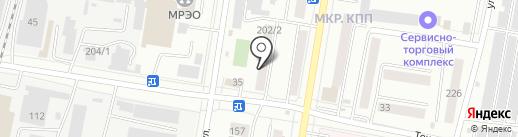 Административный участок №50 на карте Благовещенска