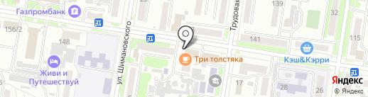 Салон красоты Максима Грудинова на карте Благовещенска