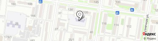 Детский сад №8 на карте Благовещенска
