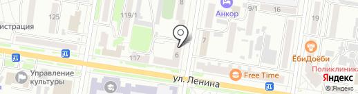 Парус на карте Благовещенска