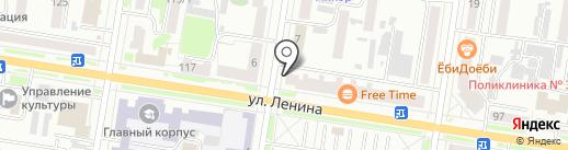 МикроЗайм ДВ на карте Благовещенска