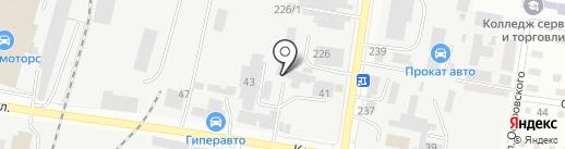 Компания по продаже пиломатериалов и погонажных изделий на карте Благовещенска