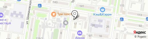GST на карте Благовещенска