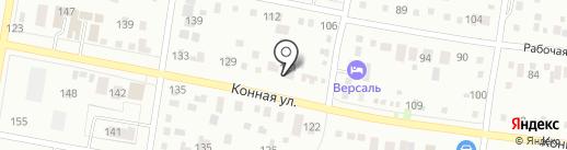 Азида на карте Благовещенска