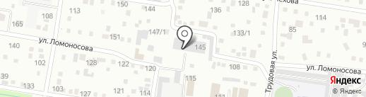 АмурИнжиниринг на карте Благовещенска