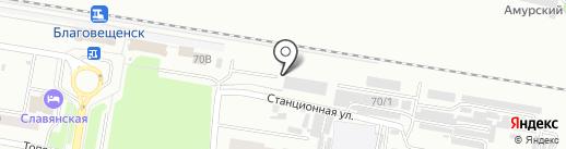 Мой город на карте Благовещенска