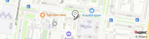 Салон оптики на карте Благовещенска