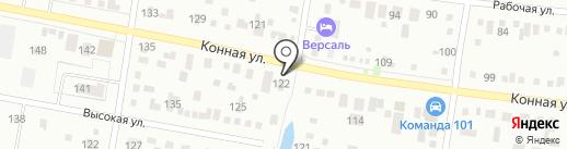 АВТОмобильный на карте Благовещенска