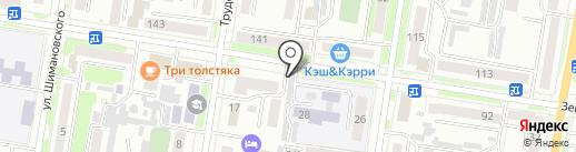 Шиномонтажная мастерская на карте Благовещенска