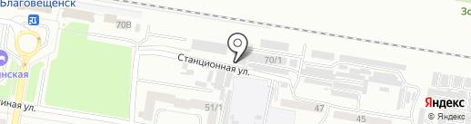 Авто Ателье на карте Благовещенска