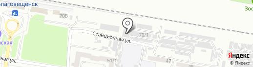 Престиж на карте Благовещенска